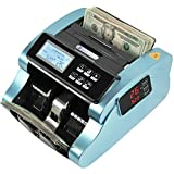 IDLETECH BC-1100 Money Counter Machine with Counterfeit Detection, Automatic Money Counting, Money Counter. UV/MG/IR/DBL/Half/Chain/DD Detections. Single Value Mode, Add, Batch Modes. Business.Grade.