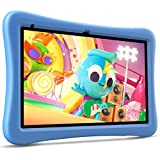 "VANKYO MatrixPad S10 Kids Tablet 10 inch, 2 GB RAM, 32 GB Storage, Kidoz Pre Installed, 10.1"" IPS HD Display, Android OS, WiFi Tablet, Blue Kid-Proof Case"