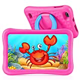 "VANKYO MatrixPad S8 Kids Tablet 8 inch, 2GB RAM, 32GB ROM, Kidoz Pre Installed, 8"" IPS HD Display, Android 9.0 OS, WiFi Tablet, Kid-Proof, Pink"